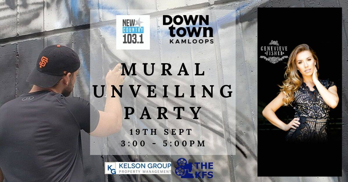 Mural Unveiling Party